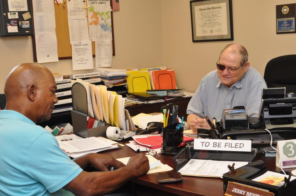 City Clerk Jerry Bentley