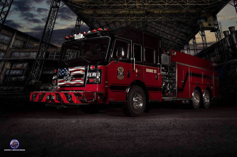 Smiths Station Fire Truck