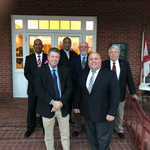 Smiths Mayor and Council on city hall steps