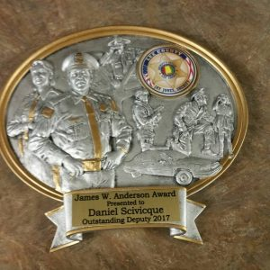 2017 James W. Anderson Deputy of the year