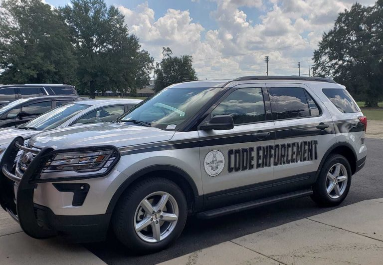 The city of Smiths Station recently purchased a 2018 Ford Explorer Interceptor to be used by the city's code enforcer.