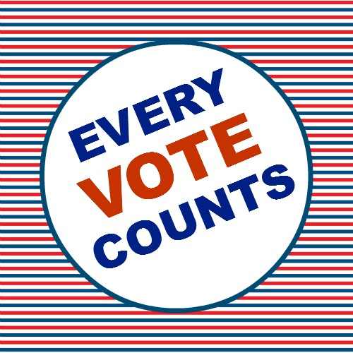 Every vote counts!